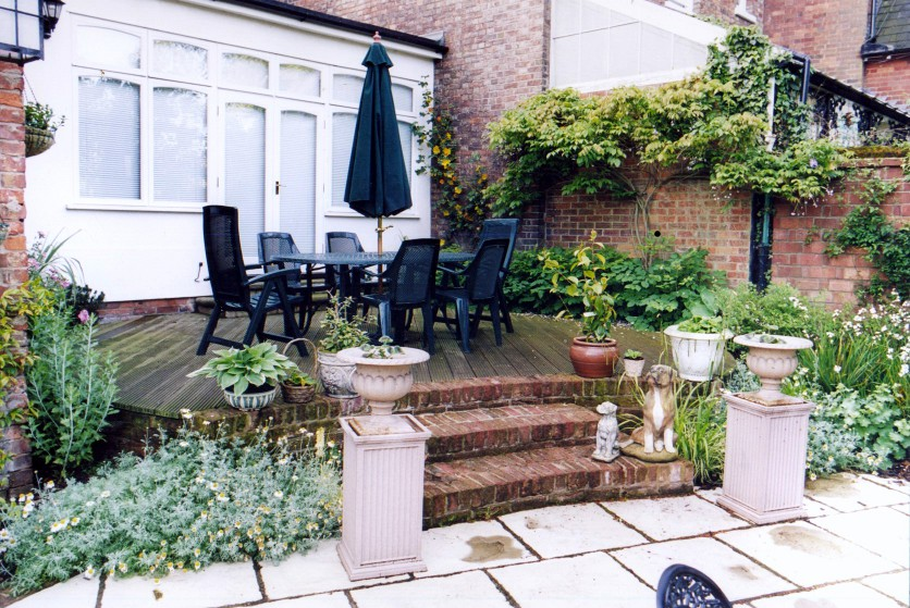 Garden Patio Example