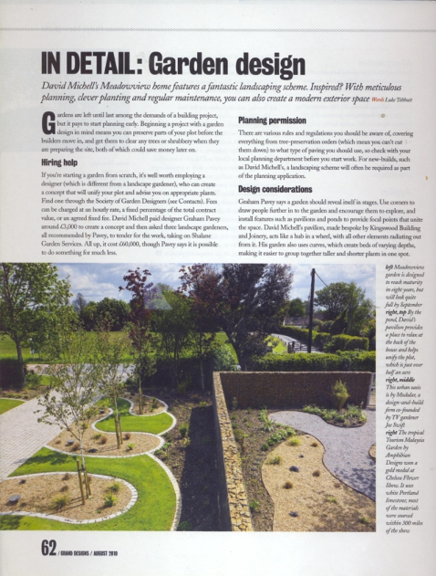 Garden design and consultancy grand designs magazine for Garden design subscription